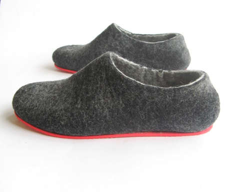 Custom Merino Wool Flats - The WoolWalker Invites You to Design Your Own Natural Footwear