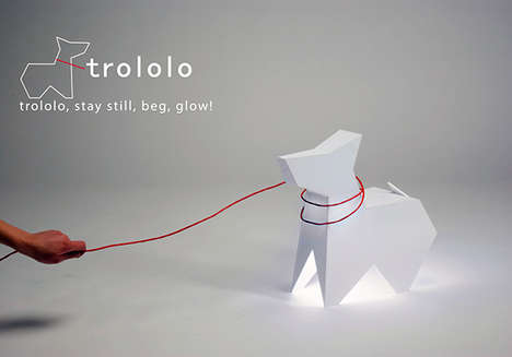Adorable Dog-Shaped Lighting