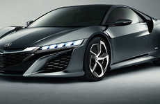 High-Performance Japanese Supercars - The 2015 Honda NSX Gives Drivers Maximum Control & Performance