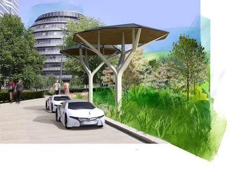 Tree-Inspired Solar Panels