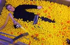 Adult Play Areas - Niklas Roy and Günter Schulz Create a Ball Pit for Grownups