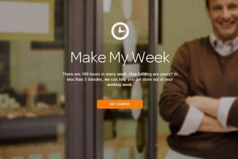 Work Week Happiness Apps - Make My Week Aims to Improve Moods and Get Away from the Grind