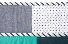 Modern Patchwork Blankets - The Hopewell Quilt Collection Boasts Contemporary Patterns and Colors