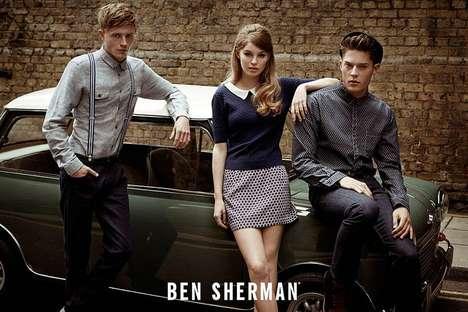 Sixties Trio Fashion Ads