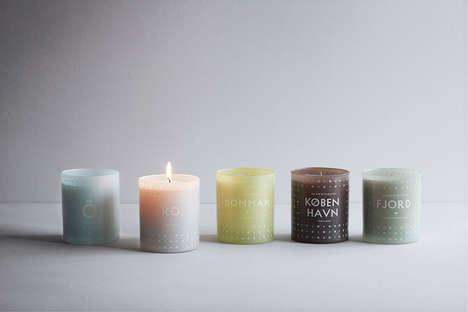 Vibrant Scandinavian Candles