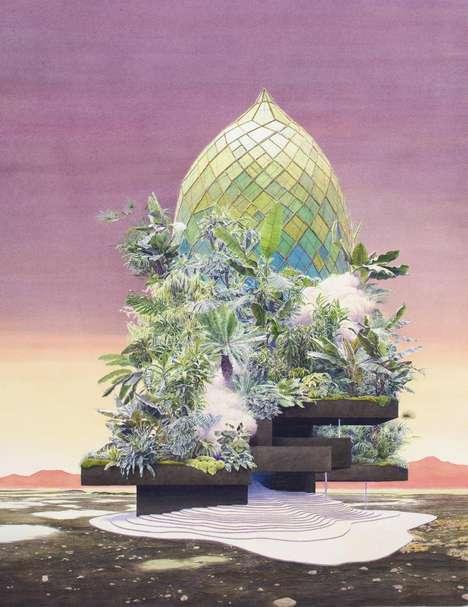 Utopian Island Paintings