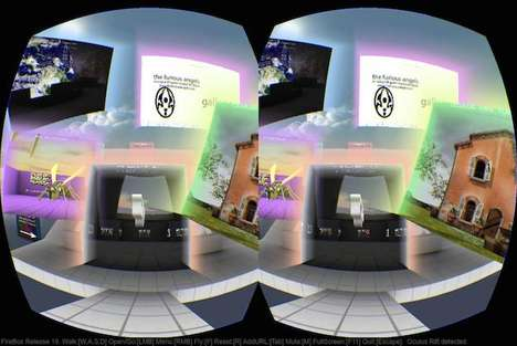 Virtual Reality Internet Browsers - The FireBox Lets Users Immerse Themselves in the Online World