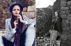 Inca Trail Fashion - Marie Claire Australia Showcases Luxe Fashion for Pilgrimages