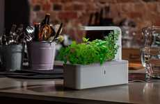 Smart Herb Gardens - The 'Click & Grow' Herb Gardens are a Lazy Gardener's Dream Come True
