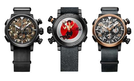 Patriotic Combat Timepieces
