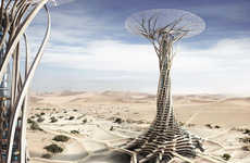 3D-Printed Desert Tower - The Sand Babel Earns Honorable Mention in 2014 Skyscraper Competition