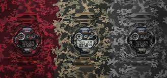 Introducing the Militaristic G-Shock Camouflage Range That