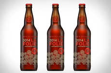 Sour Wood-Aged Beer - The New Belgium La Folie Ale is Back for the Spring Season
