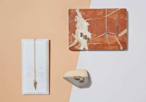 Marble Slab Jewelry Lookbooks