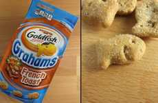 Breakfast-Inspired Crackers - The New Goldfish Flavor is French Toast
