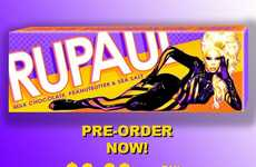 Charitable Drag Queen Chocolates - The RuPaul Bar by Sweet Hollywood Honors an Iconic Queen
