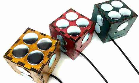Cube-Shaped Music Peripherals