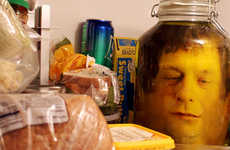 Pickled Head Pranks - This Bone-Chilling Prank Will Protect your Refrigerator on April Fool's 2014