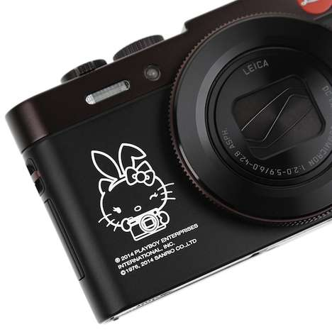 Cartoon Collaboration Cameras - Leica Partnered with Hello Kitty & Playboy for Its New Camera