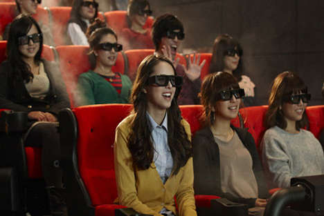 4D Movie Theaters - CJ Group Teams with AEG to Install the First 4D Theater in LA