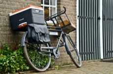 Versatile Bike Cargo Carriers - The Fietsklik Cargo Carrier Lets You Safely Carry Cargo on Your Bike