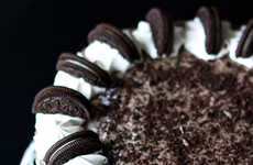 Cookie-Infused Cheesecakes - Erica's Sweet Tooth Bakes up the Oreo Cheesecake Layer Cake