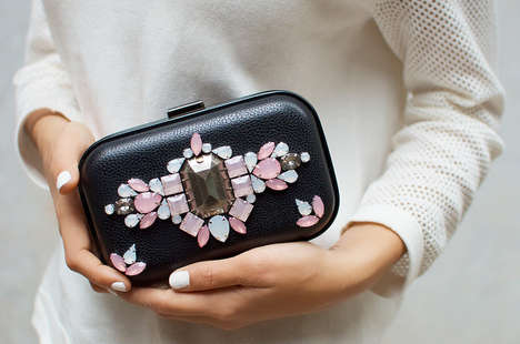 DIY Rhinestone Purses - Try Your Hand at Handmade Accessories Making a DIY Jewel Clutch