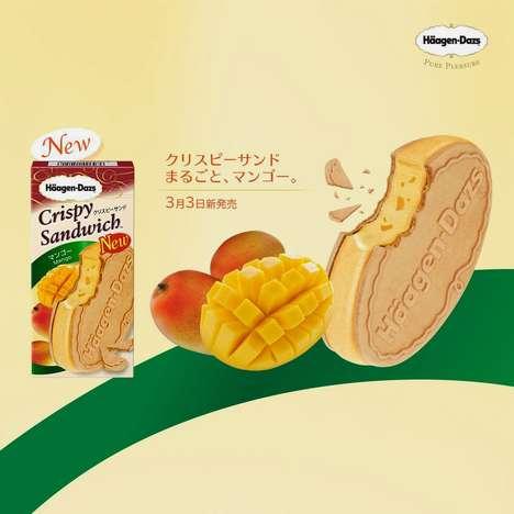 Fruity Frozen Sandwich Treats