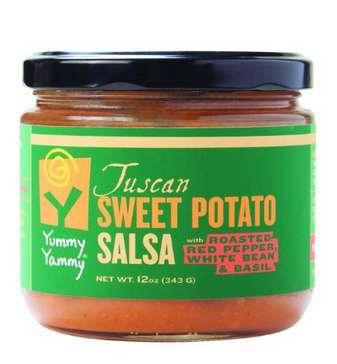 Roasted Yam Salsas