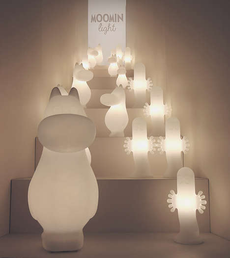 Kid-Friendly Light Fixtures - Finnish Company Feelis Helsinki is Behind the Moomin Light Collection