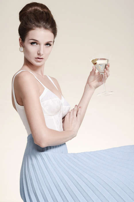 Femininely Retro Pastel Fashion