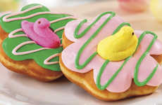 Marshmallow Easter Donuts - These New Dunkin' Donuts Have Marshmallow Peeps on Top