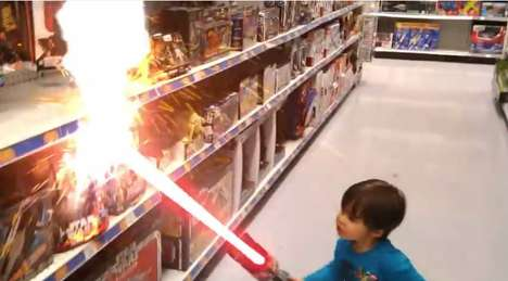 Action Movie Kid Videos - These Videos Show a Kid Living in an Effects-Heavy Action Movie World