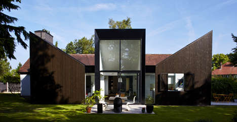 Sun-Capturing House Extensions