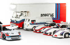 LEGO Supercar Collections - Malete Dorowski Built a Detailed LEGO Porsche Collection