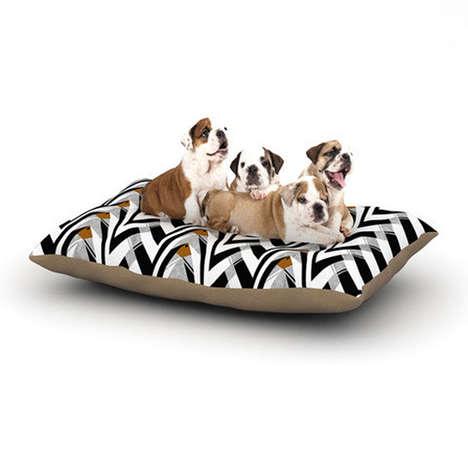 Modern Art Doggie Beds