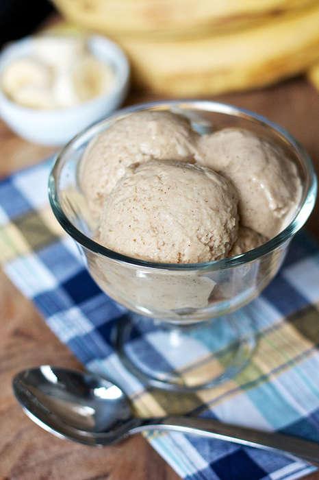 Roasted Ice Cream Cookies