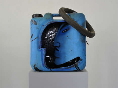 Recycled Canister Sculptures - Artist Gerd Rohling Transformed These Gas Canisters Into Works of Art