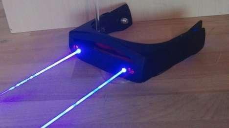 Laser-Emitting Eyewear