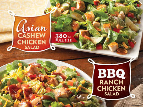 Garden-Fresh Fast Foods - Wendy's Just Unveiled a New Line of Satisfying Crunchy Salad Options