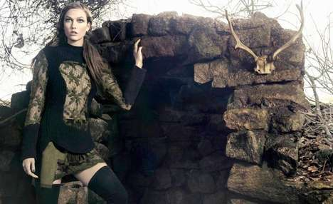 From Game of Thrones Fashions to Edgily Regal Editorials