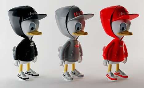 Hip Branded Disney Characters - Artist Simeon Georgiev Dresses Huey, Dewey & Louie in Hip Brands