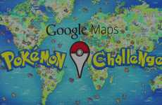 Anime Monster Scavenger Hunts - This Google Maps App Lets You Find and Catch Pokemon