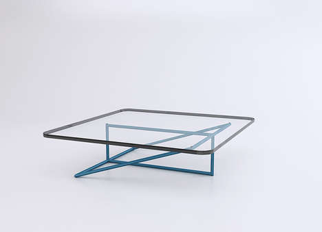Minimalist Steel Tube Tables