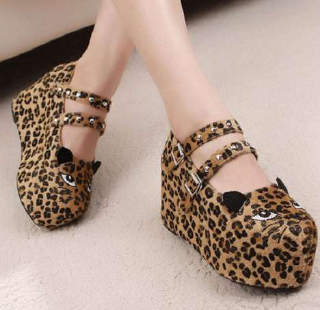 Cat-Shaped Shoes