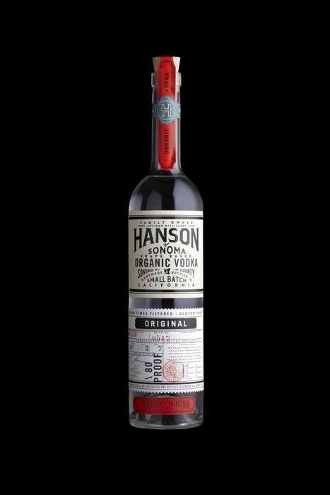 Flavor-Inspired Vodka Branding