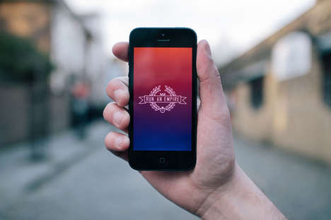 Interactive Running Apps - Compete to Capture Territory with 'Run An Empire'