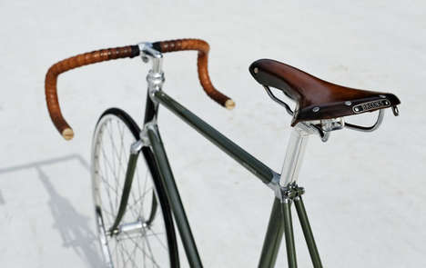 Life-Matching Luxury Bicycles - Heritage-Paris Creates Custom High-End Designs