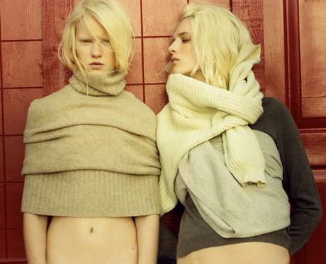 Daringly Draped Fashion
