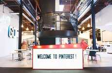 Social Network Headquarters - The Pinterest Office is Full of Fun Photo-Friendly Elements